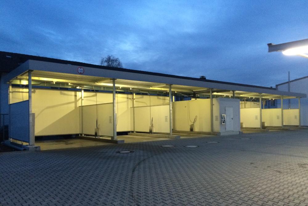 Staubsaugerplätze Aqua Autowasch