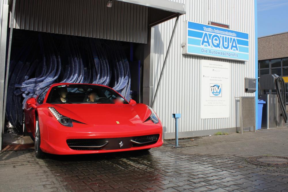 Autowäsche Frankfurt Aqua Autowasch