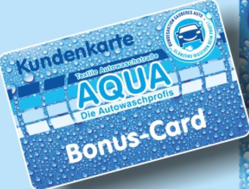 Kundenkarte Aqua Autowasch